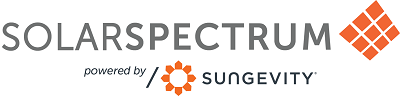 solarspectrum logo powered by sungevity