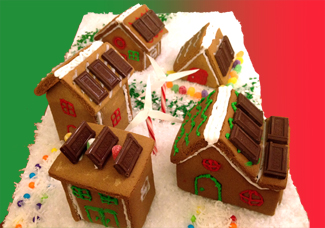 Solar Gingerbread Houses- Everybody Solar Charity